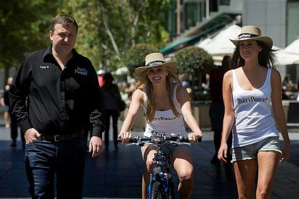 Tony G, his concierge and the bike