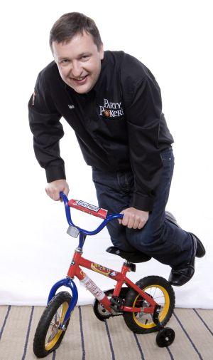 Tony G bike at the Big Game
