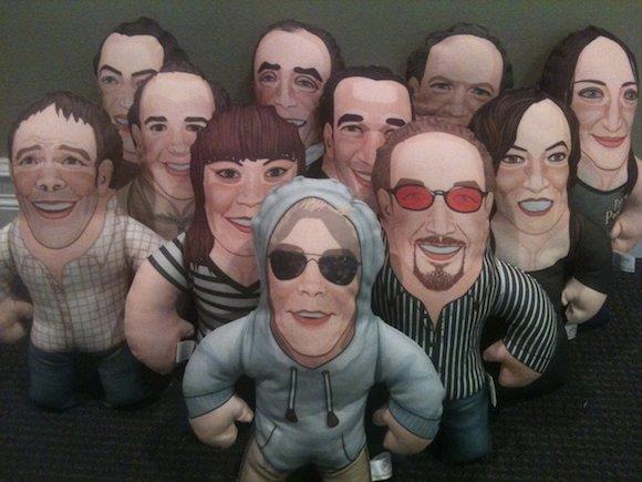 poker player dolls