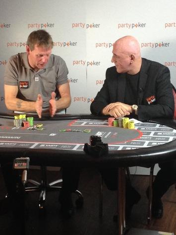 Stuart Pearce and Simon Trumper