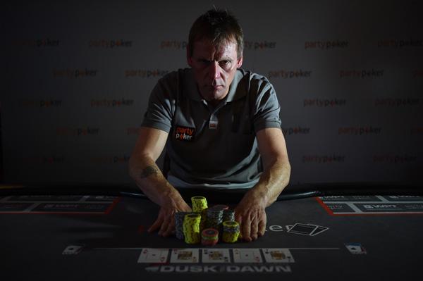 Stuart Pearce playing poker