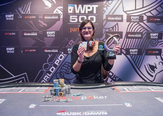 Eleanor Gudger - 2014 partypoker WPT500 UK champion