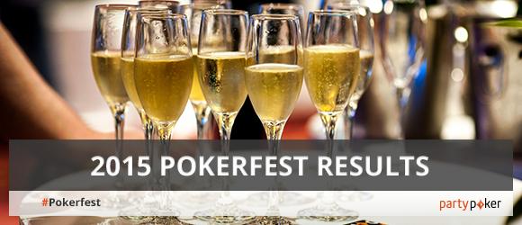 2015 Pokerfest results