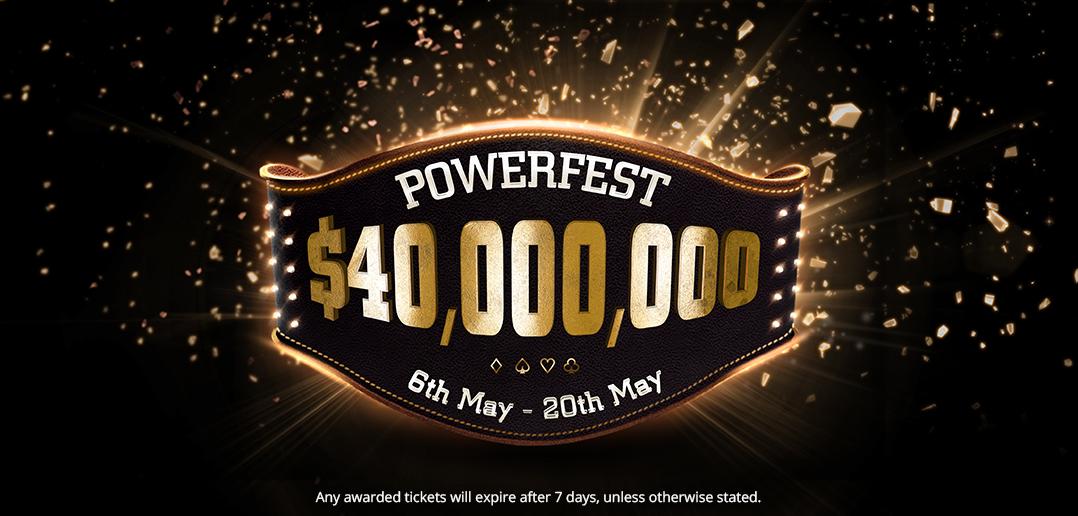 $40 million guaranteed POWERFEST