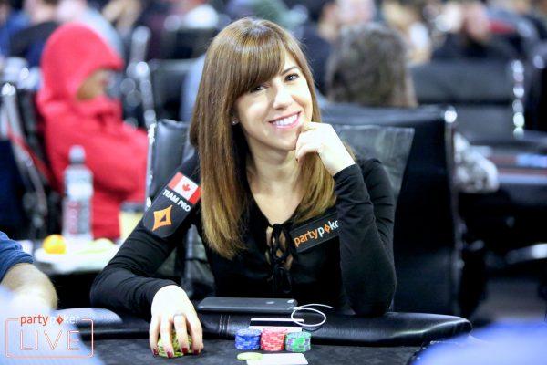 Canadian poker player Kristen Bicknell