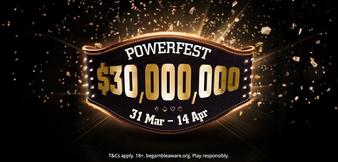powerfest winnings