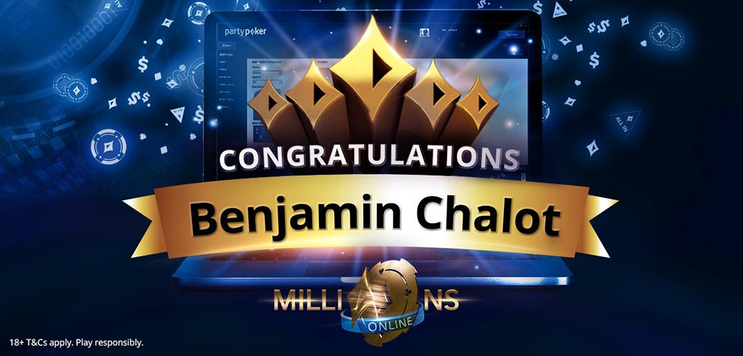 "2019 millions online champion benjamin ""frenchsniperrr"" Chalot"