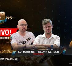 MILLIONS Online na Twitch: Kelvin Kerber e Lui Martins comentam final do 6-Max Super High Roller US$25k nesta quarta