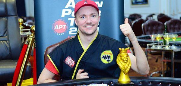 Andersson remontó y ganó el Super High Roller del POWERFEST