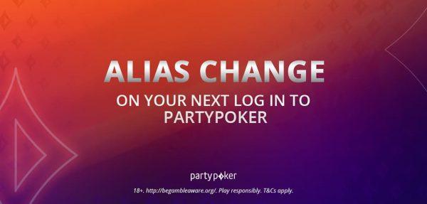 Contra bots e por um jogo cada vez mais seguro, partypoker vai promover mudanças de todos os nicks até sexta