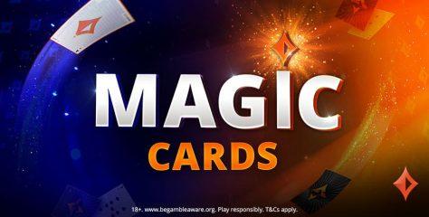 Nova promoção do partypoker, Magic Cards vai distribuir até $ 500; participe gratuitamente