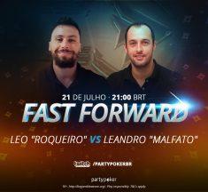 Leandro vs Leonardo: 'Roqueiro' e 'LieOnMyLips' se enfrentam nesta quarta no Fast Forward Challenge