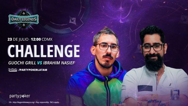 Daily Legends Challenge: explota Twitch con el duelo Guochi vs. Nasief