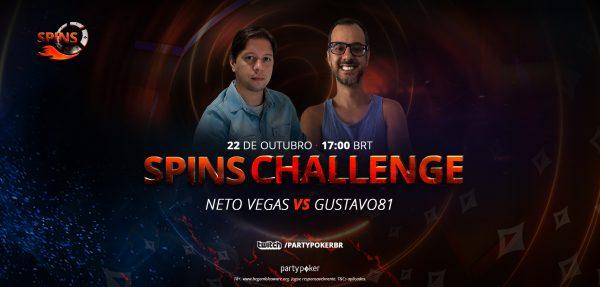 Gustavo81 e 'Netovegas' protagonizam Spins Challenge nesta sexta