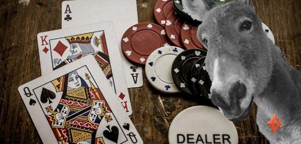 5 erros que definem um jogador donkey no poker